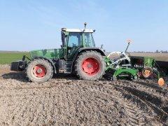 Fendt Farmer 312 + Tolmet Polon 3m + Amazone D8 Special