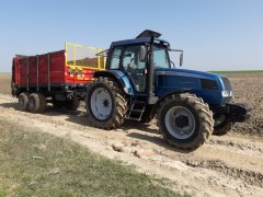 Landini Legend 115 + MetalFach N267