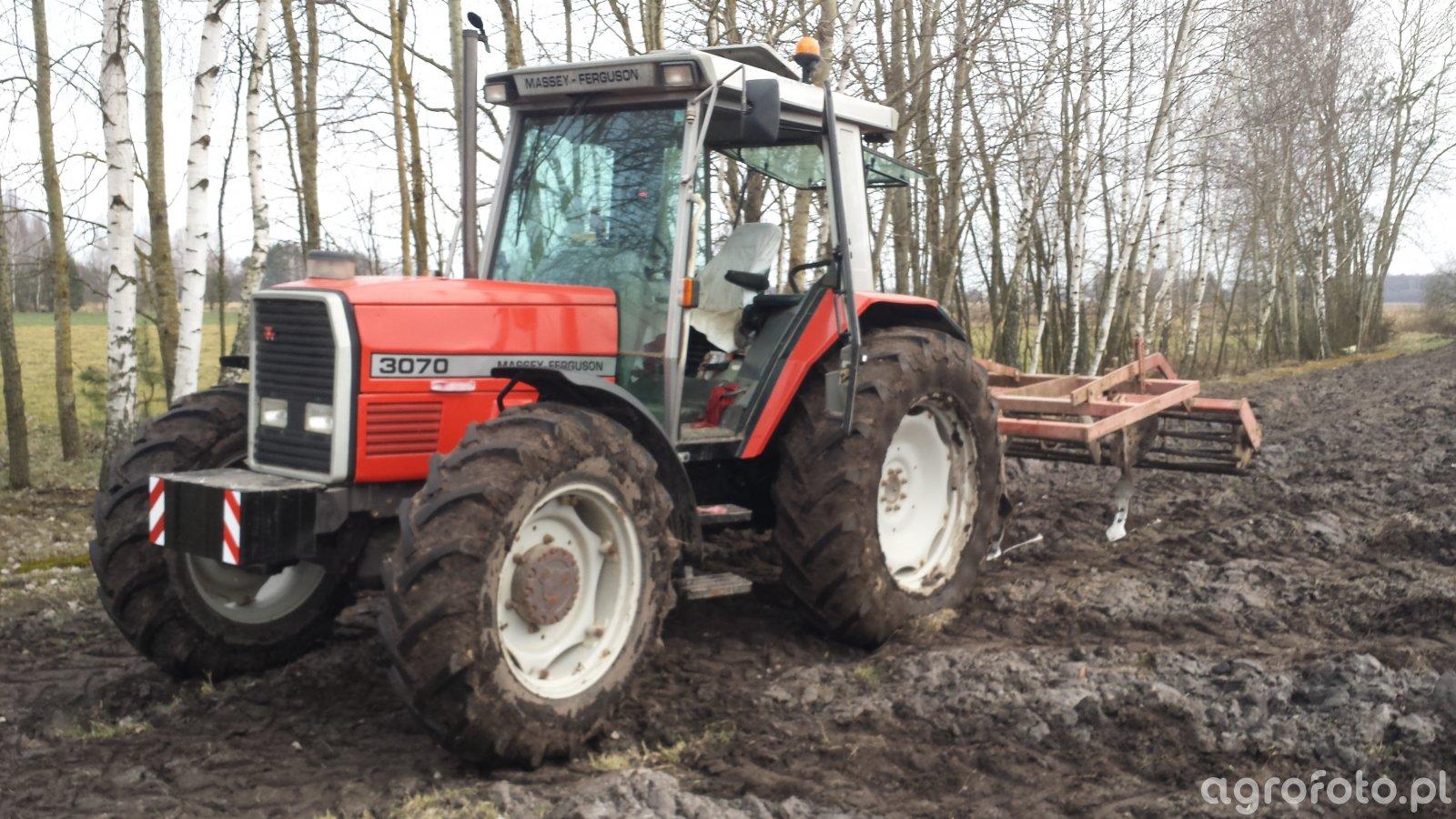 Massey Ferguson 3070 + gruber becker 3m