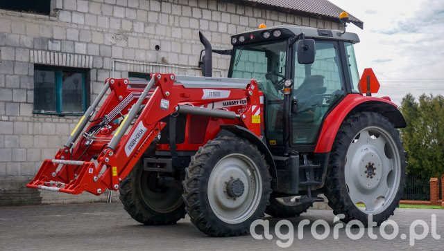 Massey Ferguson 5435 + InterTech IT 1600