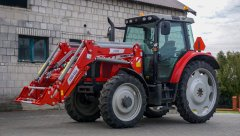 Massey Ferguson 5435 + InterTech IT 1600