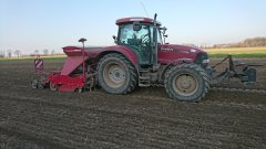 Maxxum 140 MC + horsch express