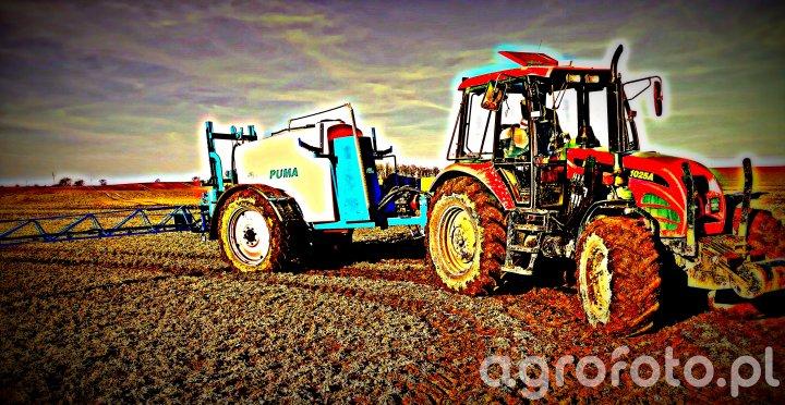 Pronar 1025a & Agrio Puma 3000/21