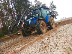 New Holland T5050 & Brony