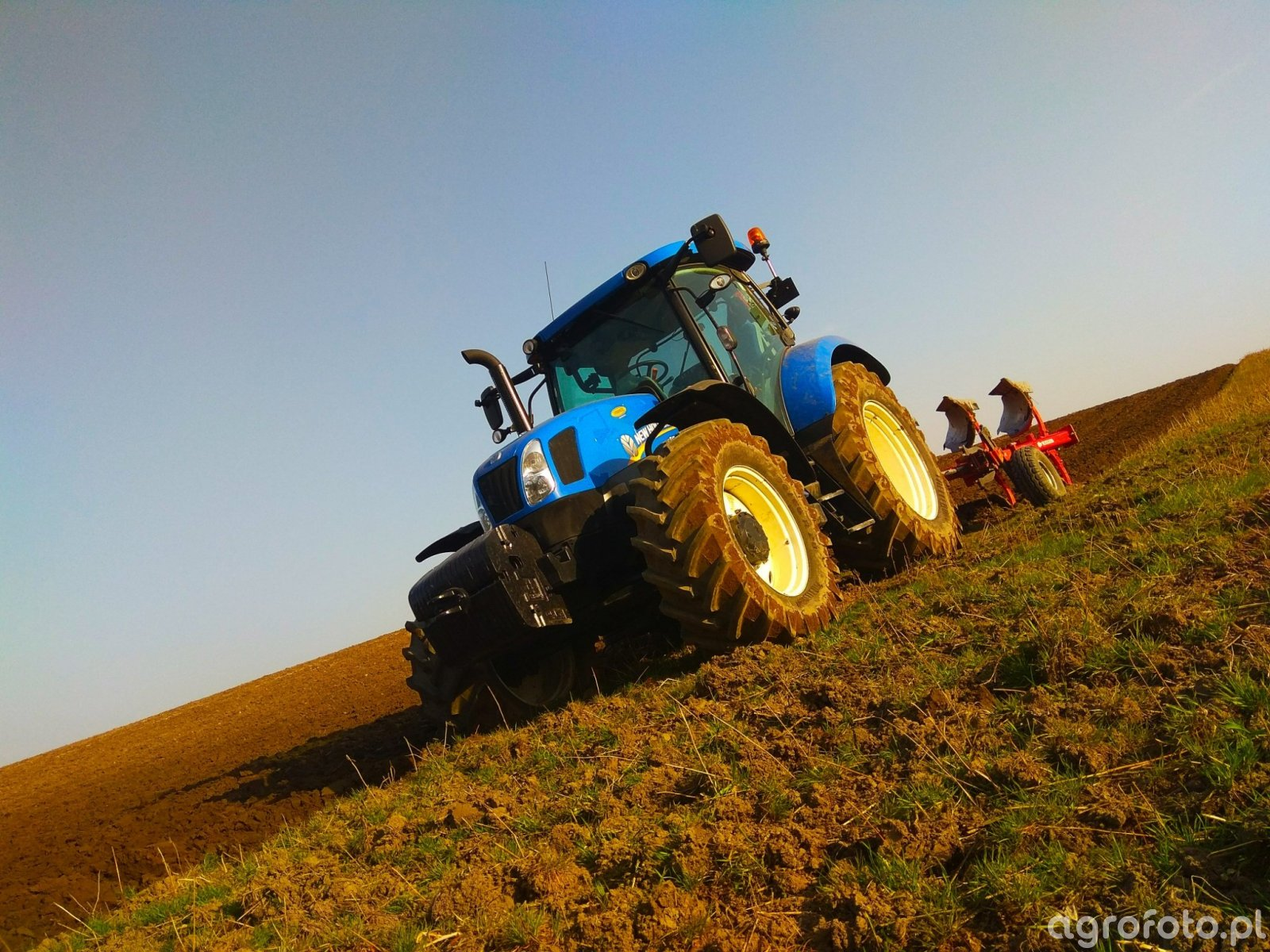 New Holland T6.165 & Akpil KM80-R