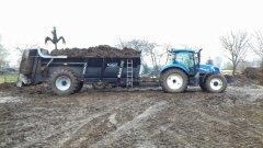 New Holland T6.175 + Brochard 14 ton