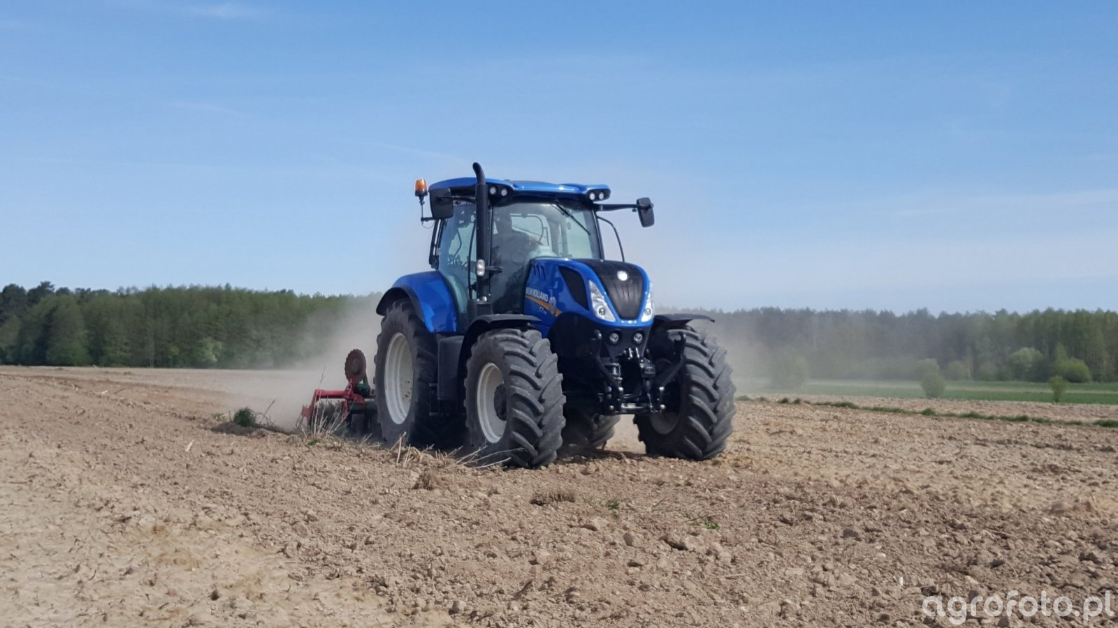 New Holland T7.175 & Unia Ares