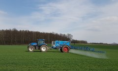 New Holland T7.185 + Lemken Albatros 6000