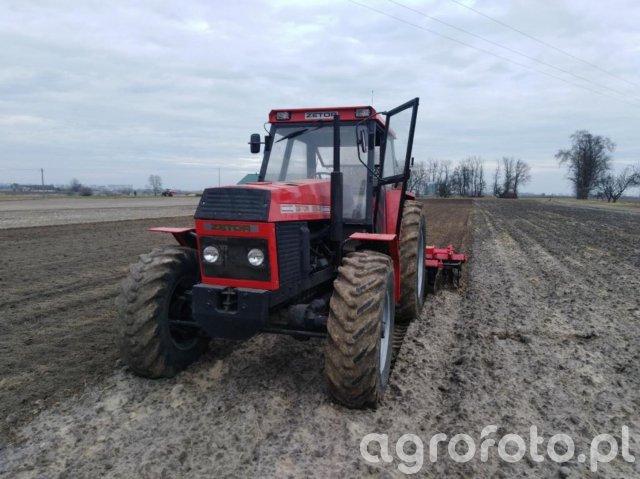 Zetor 12045 + grano system
