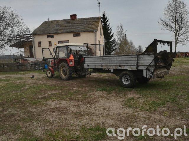 Zetor 5211 + Czarna Białostocka
