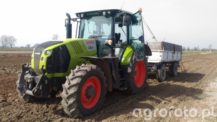 Claas Arion 620 & Autosan D-46