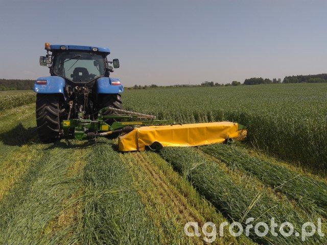 New Holland T6.120 + Pronar PDT 300