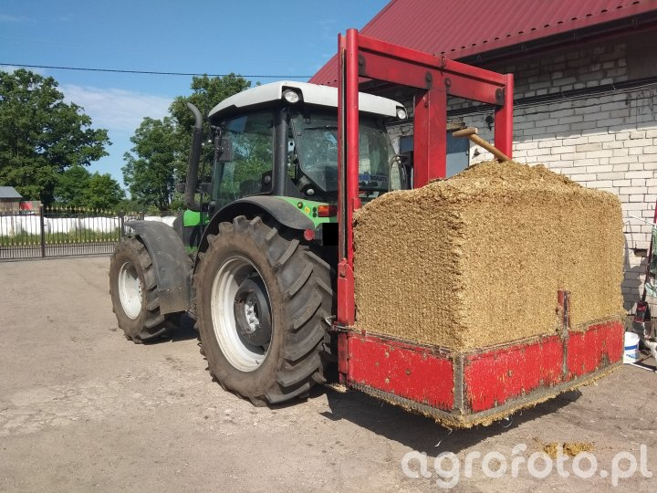Deutz Agrofarm 430 & wycinak BVL