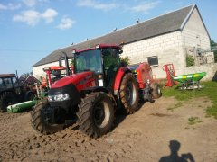 Case Farmall 85A & Metal Fach Z562 RN