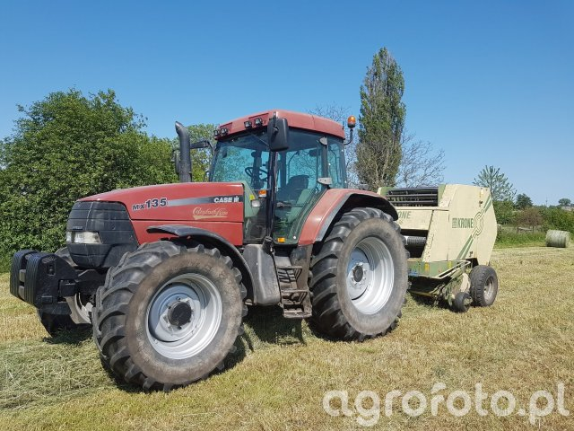 Case mx 135 plus krone 10-16