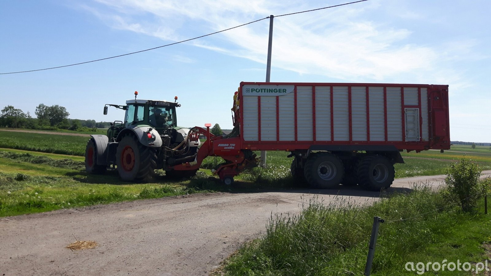 Fendt 830+ pottinger