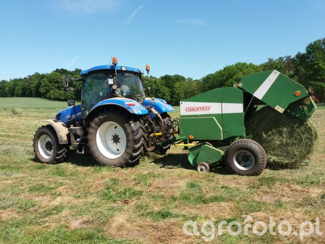 New Holland T6.175 + Sipma Z-569/1 Farma II