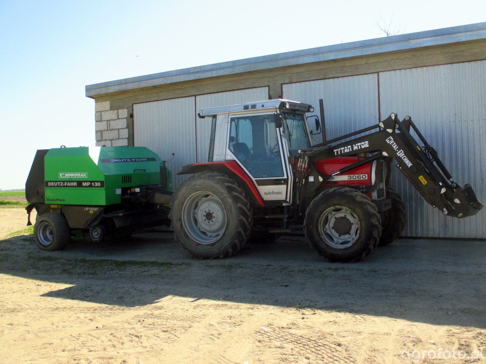 MF 3060 + Deutz fahr MP 130