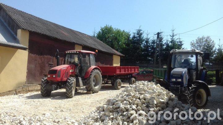 Farmer F-8244 C2 Autosan Farmtrac 675 DT jednoosika