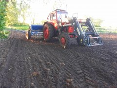 Mtz 82& Inter-tech IT1600&  siewnik Mazur 4m