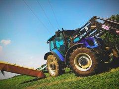New Holland T5050 & SaMasz KDT 260