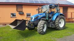 New holland t5 & łyżka