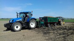 New Holland T6.175 + Sadzarka s211/1