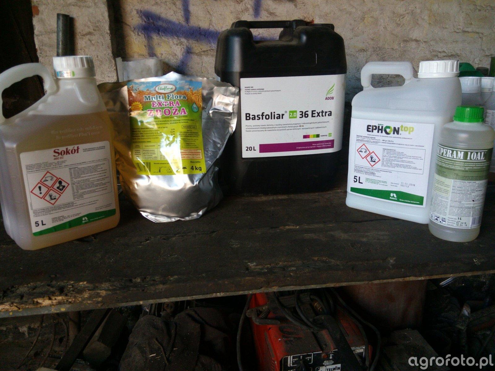 Środki ochrony roślin na T2