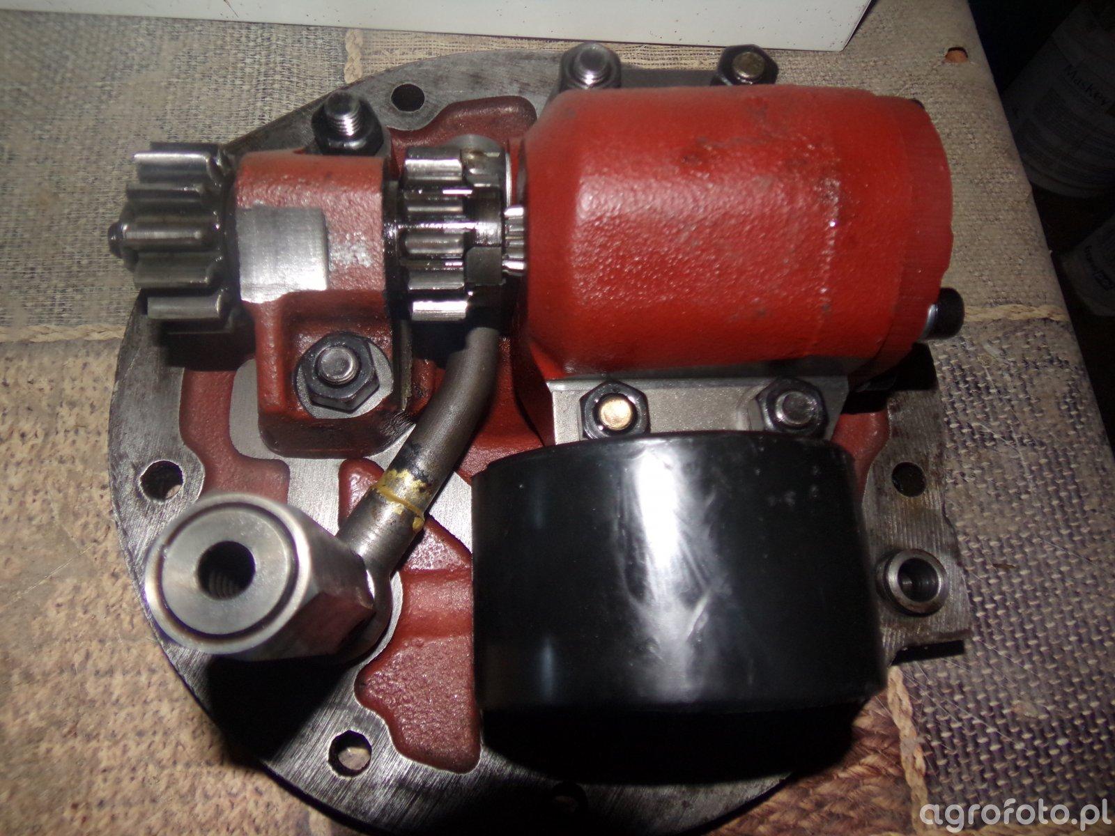 Ursus C360 3P - remont podnośnika