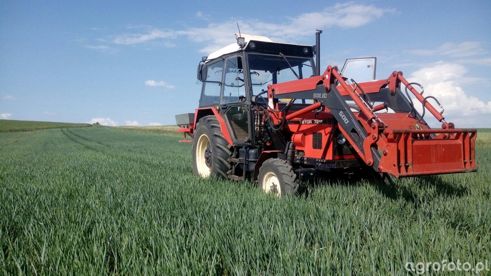 Zetor 7211 + Grass Rol