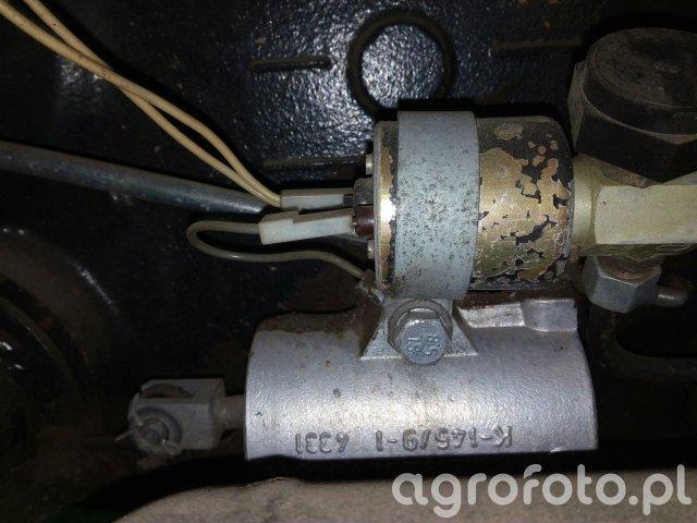 Zetor 7211 pneumatyczne sprzęgło WOM
