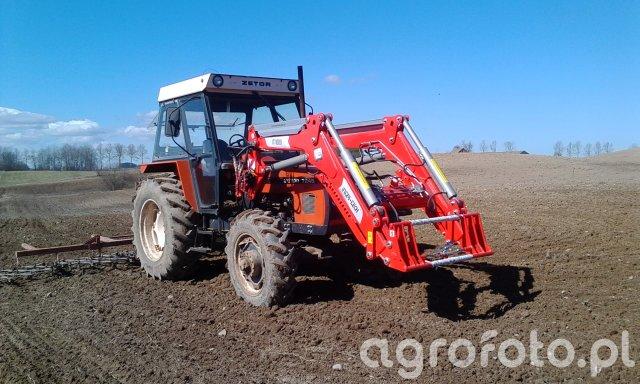 Zetor 7245 & Inter Tech 1600 & Brony