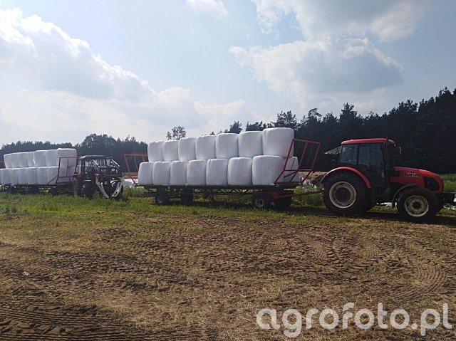 2x Laweta+Zetor 8441 & Belarus 920.2