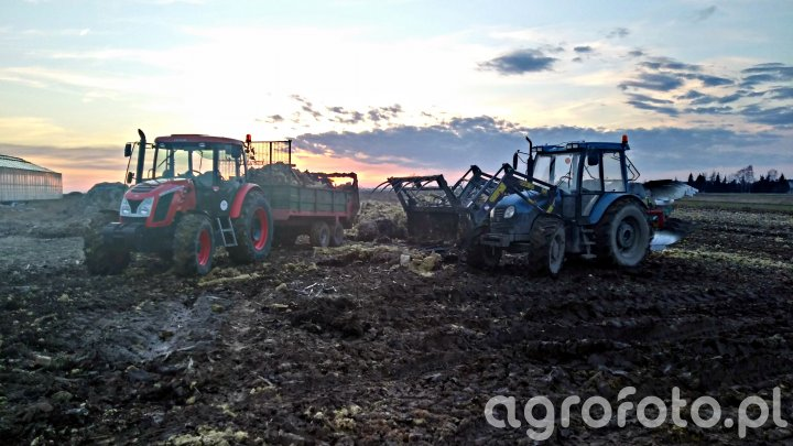 Zetor Proxima 100 Power & Pronar Zefir 85