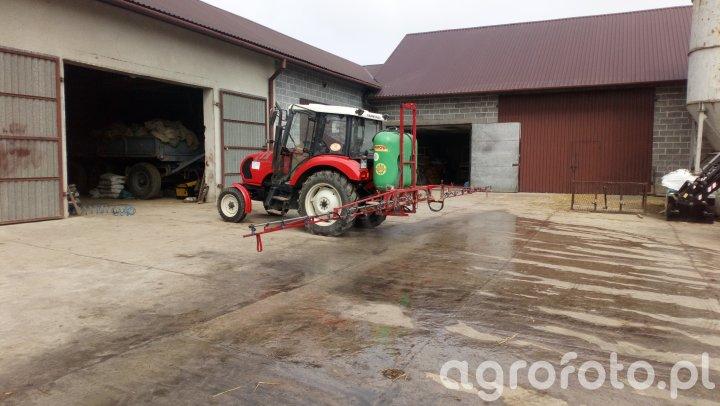 Farmtrac 535 + krukowiak