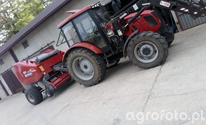 farmer 8244 + Prasa Unia