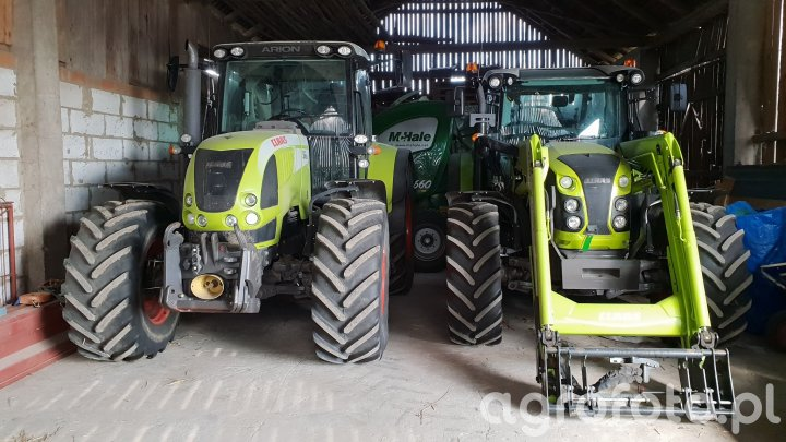 Claas Arion 620 Cebis & Claas Arion 430 Cis