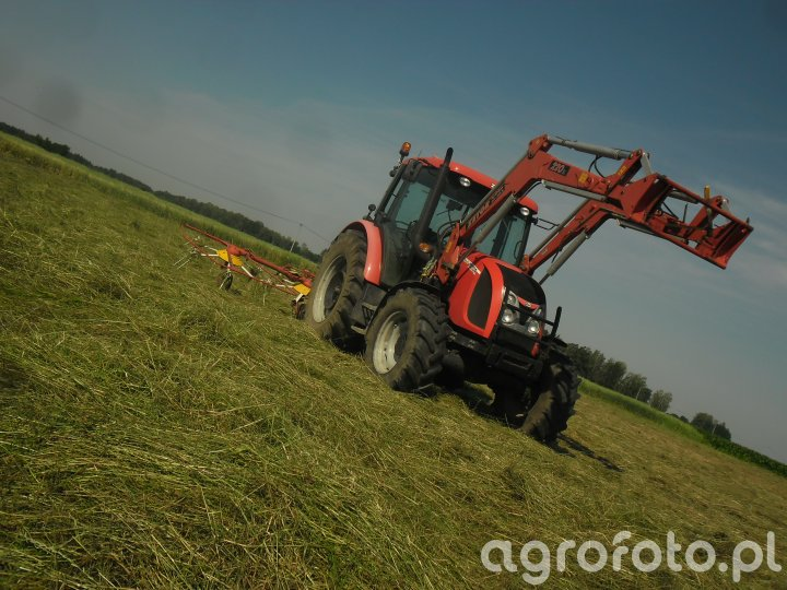 Zetor Proxima 85 & Pottinger Hit 54n