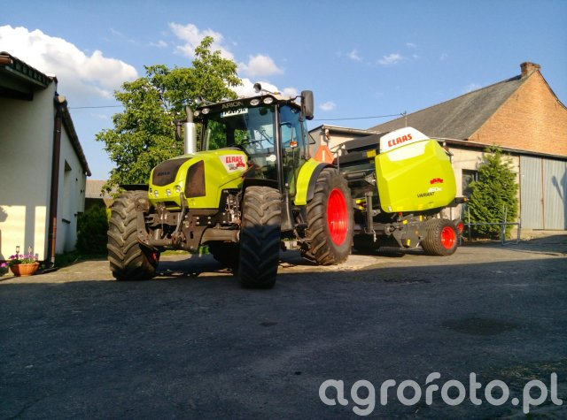 Claas Arion 430 & Variant 460 RC