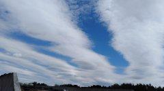 Dziwne  chmury nad Suwalszczyzną
