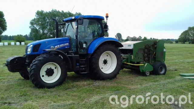 New Holland T6.175 + Sipma Z-569/1 Farma II