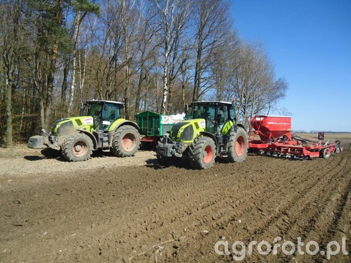 Claas Axion 830 i 850