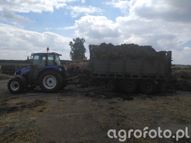 New Holland T4.65 & Fortschritt T 088