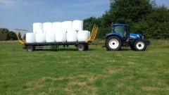 New Holland T6.175 + Wielton