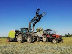Valtra N101 + Claas Variant 360 RC & Zetor 6911 + Przyczepa x2