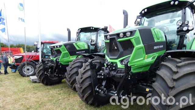 Targi rolnicze SZEPIETOWO 2018 - Deutz-Fahr