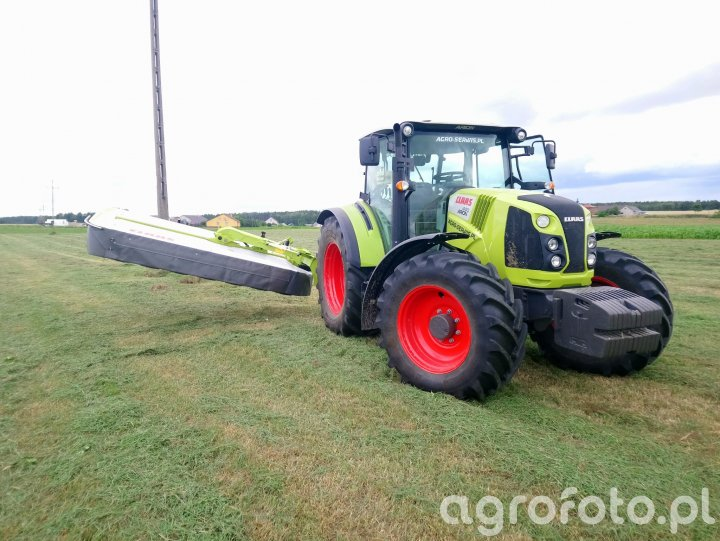Claas Arion 440 CIS + Claas Disco 3200 Contour