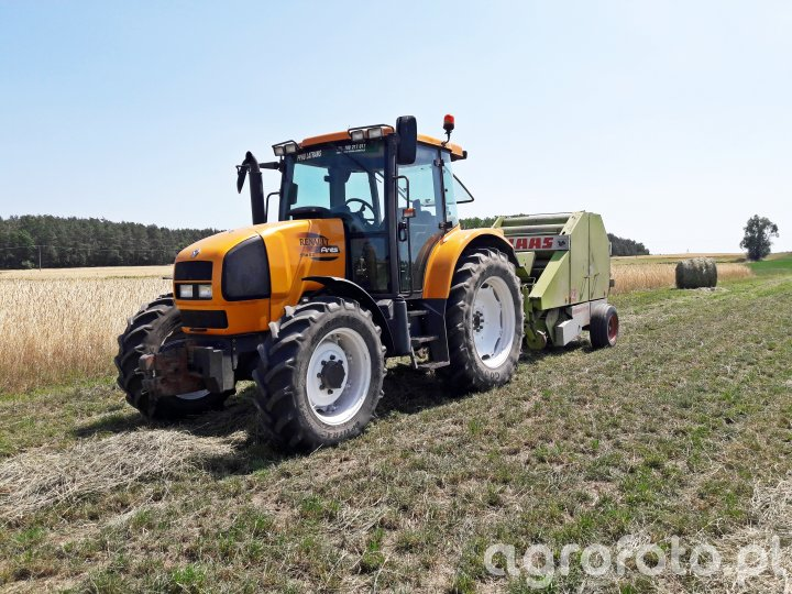 Renault Ares 556 RZ + Claas Rollant 44