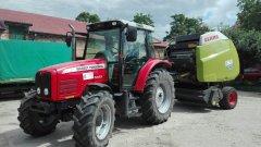 Massey Ferguson 5425 & Claas Variant 360