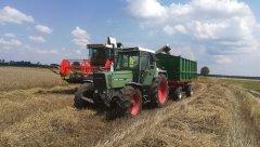 Claas Dominator 88 s & Fendt Farmer 312